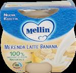 mellin merenda  latte banana gr.100x2