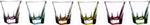 fusion colour bicchieri liquor 6pz260130
