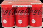coca cola zero lattina ml.150x6