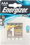 energizer max plus ministilo aaa pz.4