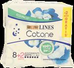 lines cotone ultra notte pz.8