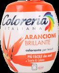 coloreria italiana arancione brillante