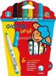 giotto be-be superpennarelli  6pz 466600