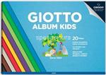 giotto album colorato a4 20fg 580700