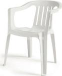 bianco sedia giada monoblocco  1111