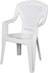 bianco poltrona capri 56x58x90cm