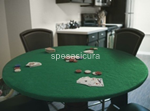 panno poker tondo d.140