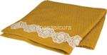 l.lace flower m. asciugamani 90x150cm $$