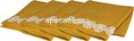 l.lace flower m. salviette 35x35cm 4pz$$