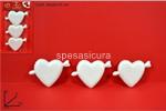 cuore polistirolo 12cm 3pz al003090