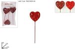 cuore spillone glitt 27cm 3pz mo000919