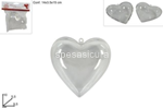 cuore plastica trasp. 10cm ca006069