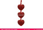 l.polistirolo cuore glitt ros  5cm 3pz$$