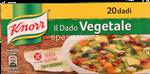 knorr dado vegetale 20 cubetti gr.200