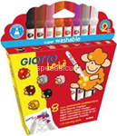 giotto be-be pennarelli 8pz 467900