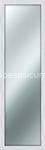 specchiera shabby 40x125 bianca