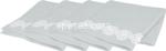 l.lace flower b. salviette 35x35cm 4pz$$