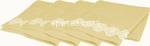 l.lace flower c. salviette 35x35cm 4pz$$