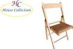sedia pieghevole baby naturale 230.20