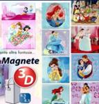 princess magnete 3d 8,5x8cm
