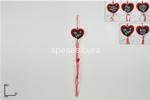 appendino cuore c/pendente 60cm ca010 ##