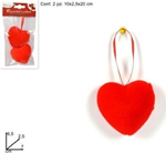 appendino cuore   7cm 2pz ro008081