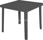 antracite tavolo nettuno 80x80xh72cm