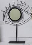 specchio nero dgf occhio 51cm 782275