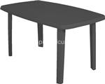 antracite tavolo sorrento 140x80xh72cm