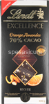 lindt excell.passion arancia mand.gr.100