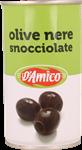 d'amico olive nere snocc.latta gr.350