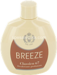 breeze deo squeeze classico 67 ml.100