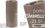 portaombrelli ceramica beige 51cm 701887