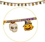 festone halloween c/glitter 270cm 08478