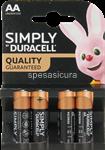 duracell plus power stilo aa du0100