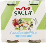 sacla'condiverde riso light gr.290x2