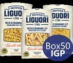box 50 confezioni pasta di gragnano igp pastificio liguori
