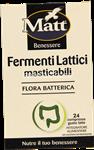 matt fermenti lattici masticabili