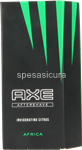 axe africa after shave 100ml. invigorating citrus