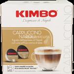 kimbo capsule comp dolce gusto - cappuccino napoli 16 pz