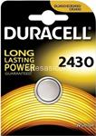 duracell long power pila bottone 2430