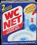 wc net cassetta acqua blu pz.2