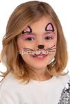 tatuaggi viso gattino 09469