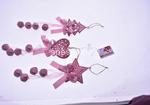appendino c/campanelle rosa 3cm