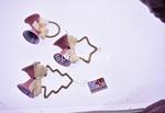 appendino c/campanelle rosa 6,5cm