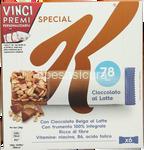 special k barrette ciocc.al latte gr.120