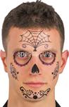 tatuaggi viso teschio messicano 07346