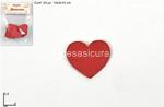 cuore legno rosso 4cm 24pz mo001978