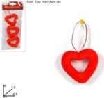 appendino cuore  6cm 3pz ro008078