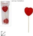 cuore spillone 22cm 2pz je006811